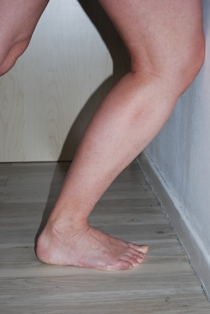 pied etirement cheville